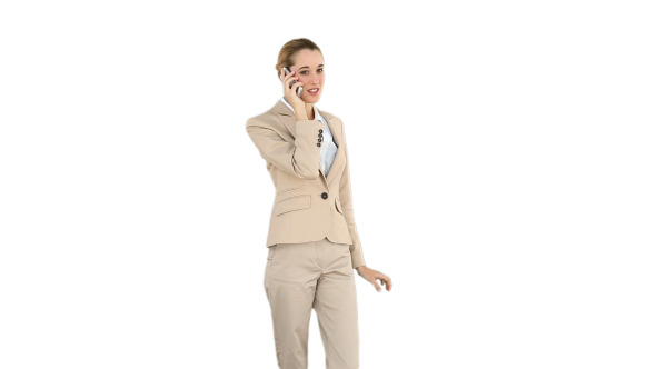 Businesswoman Talking On The Phone 4