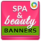 Spa & Beauty Banners - GraphicRiver Item for Sale