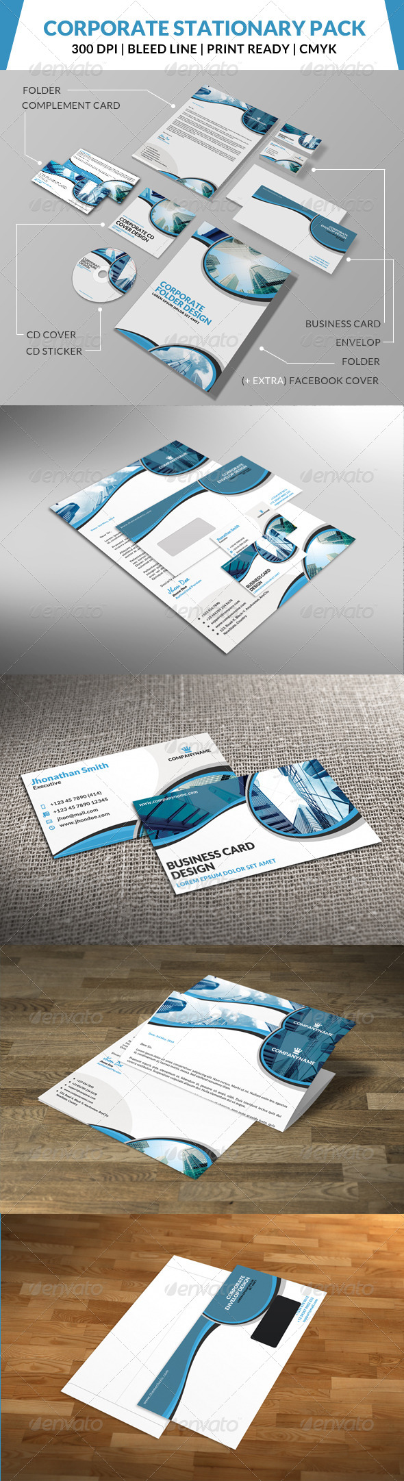 GraphicRiver Corporate Stationary Pack 4 8469264