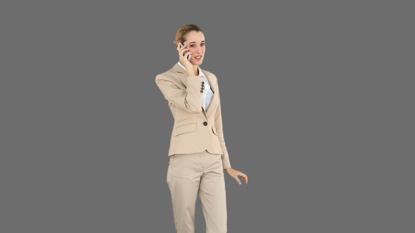 Businesswoman Talking On The Phone 3
