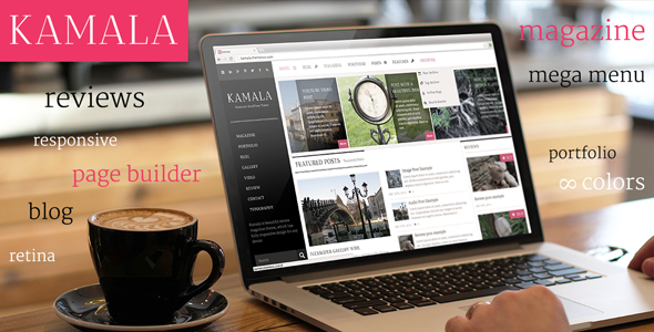 Kamala – Multi-purpose / Magazine / Review Theme - Blog / Magazine WordPress