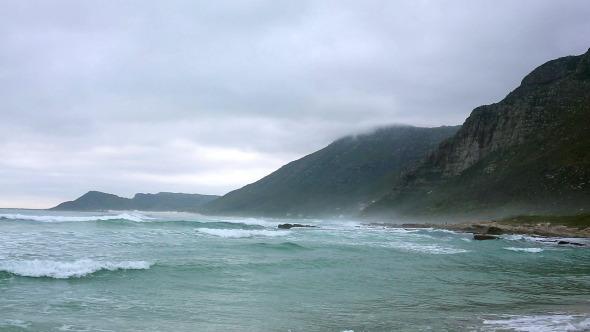 Waves Crashing On The Beach 2