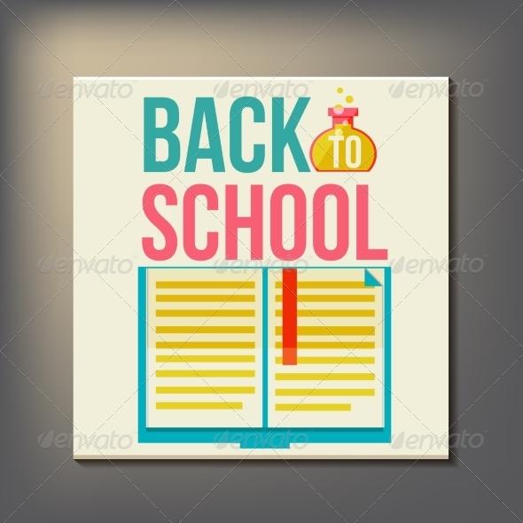 GraphicRiver Back to School Design Template 8469431