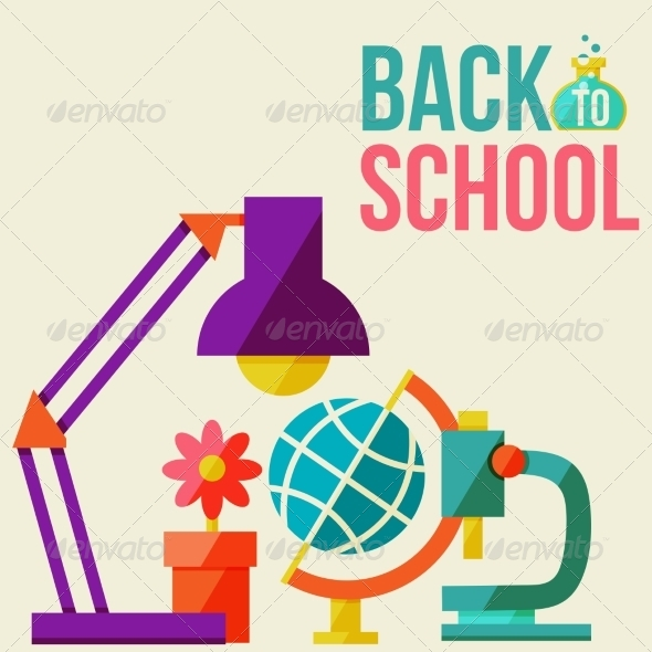 GraphicRiver Back to School Design Template 8469451