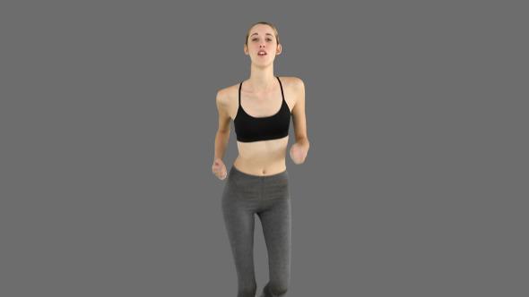 Fit Model Jogging 2