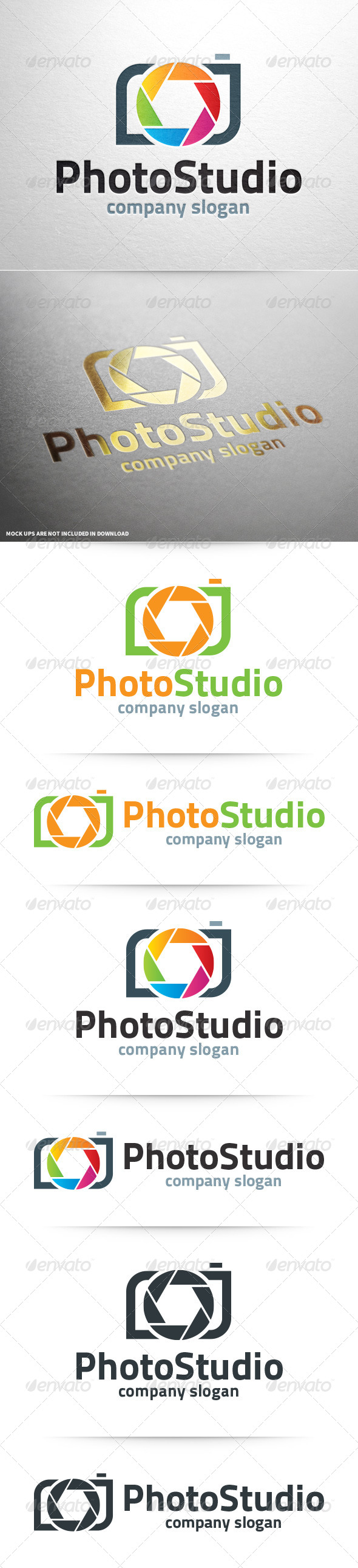 GraphicRiver Photo Studio Logo Template 8469501