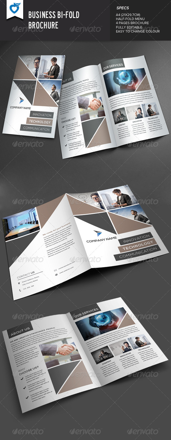 GraphicRiver Business Bi-Fold Brochure 8469510