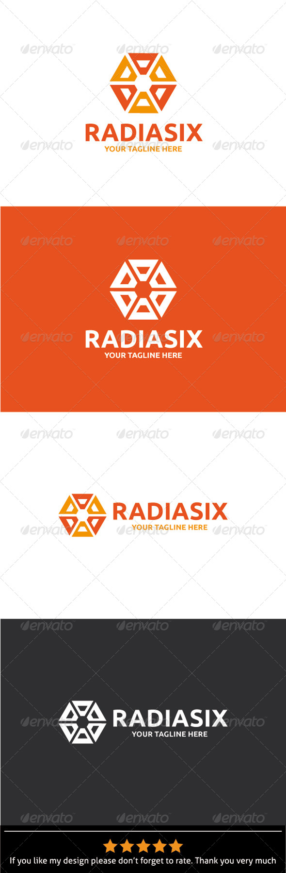 GraphicRiver Radiasix Logo Template 8469546