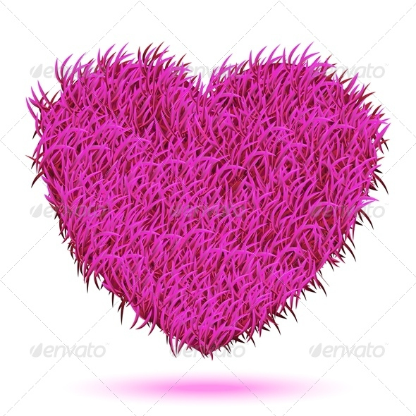 GraphicRiver Heart Pink Carpet 8435810