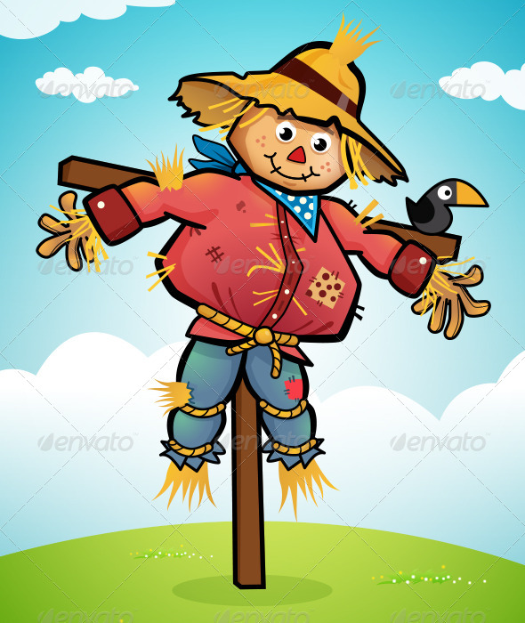 GraphicRiver Scarecrow 8469617