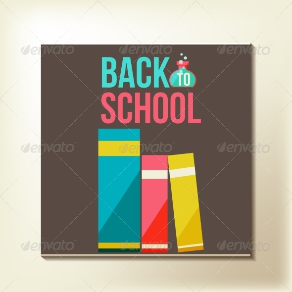 GraphicRiver Back to School Design Template 8469667