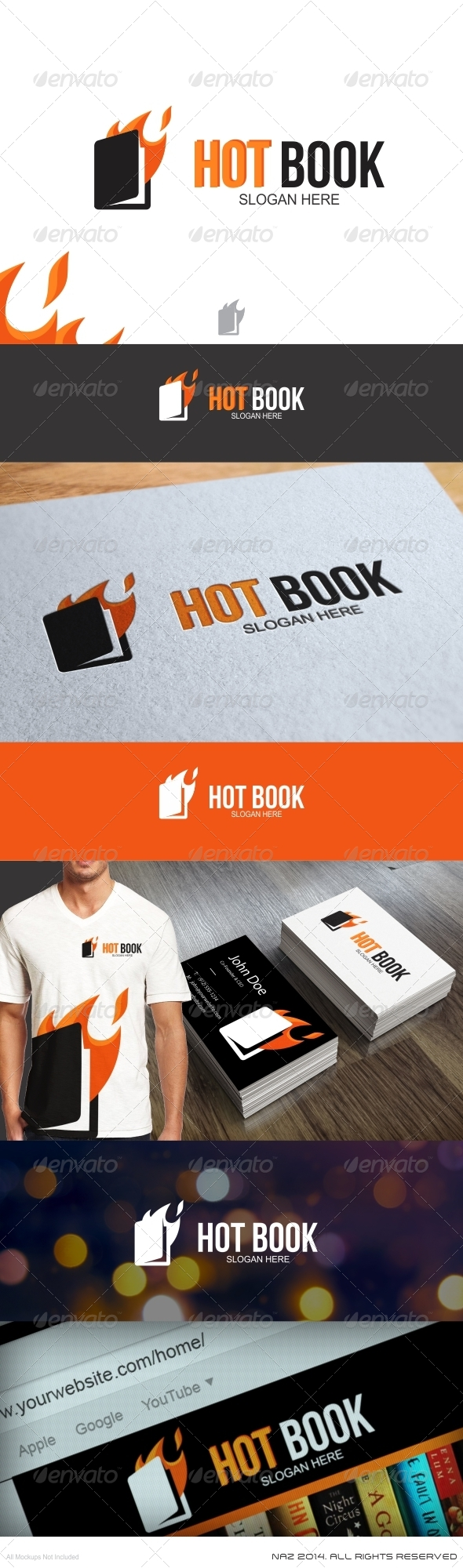 Hot Book Logo