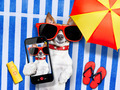 dog selfie from vacation - PhotoDune Item for Sale
