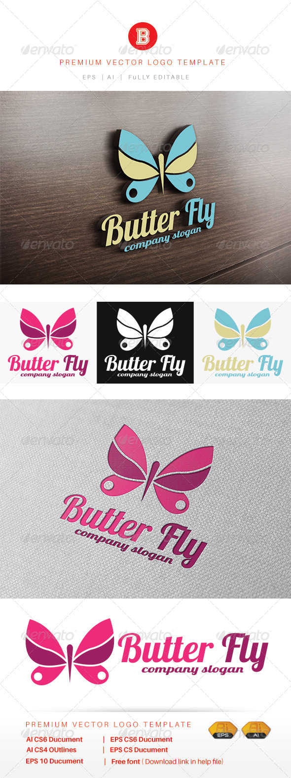 GraphicRiver Butter Fly v.3 8469779