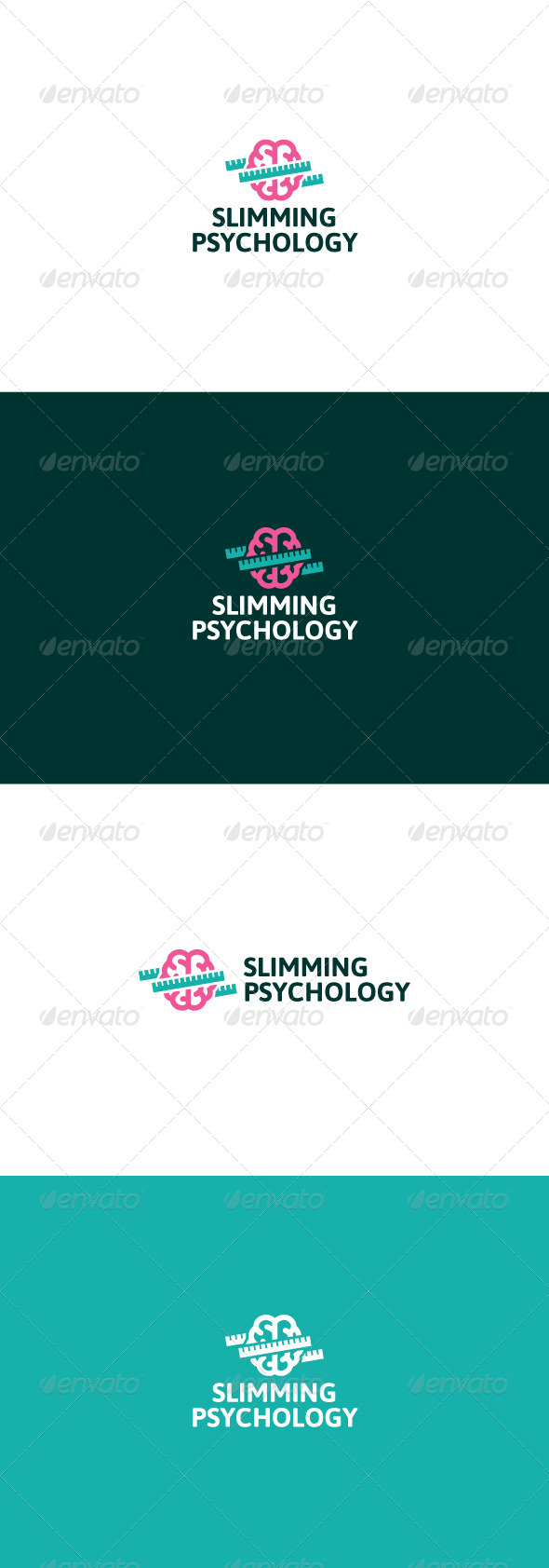 GraphicRiver Slimming Psychology Logo 8469810