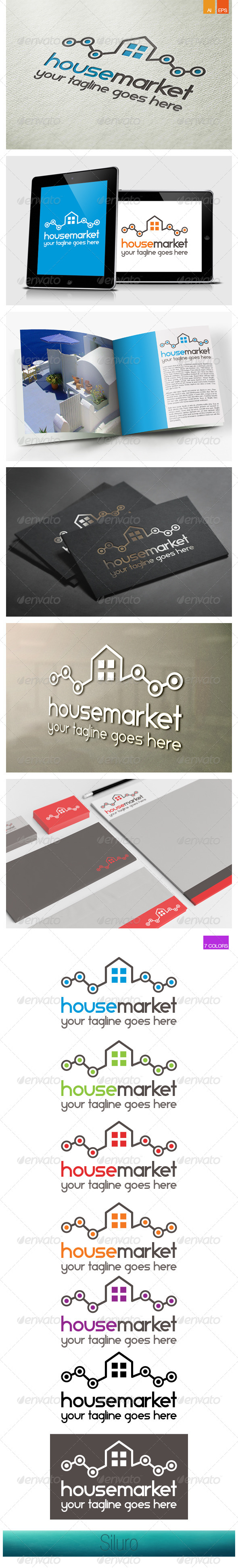 GraphicRiver House Market Logo 8469837