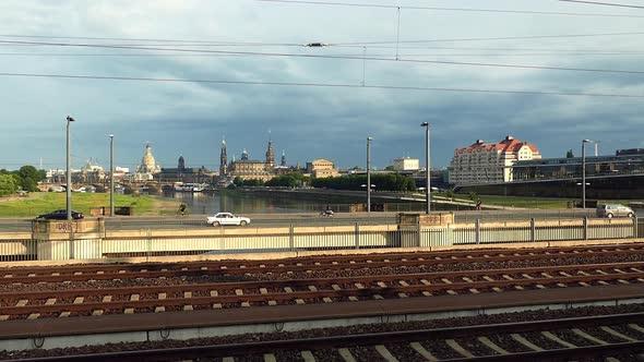 Dresden City - rakennukset, Railroad, Traffic - Kaupunki Arkistofilmit