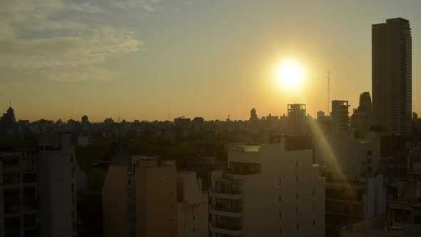 Download Sunset Buenos Aires City Timelapse nulled download