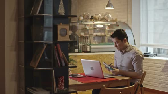 Download Cafe Owner Busy Working nulled download