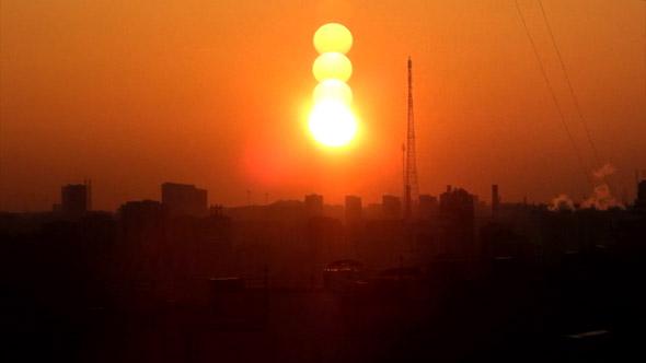 Big City Sunrise