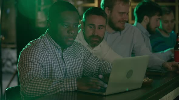 Download African-American using laptop in pub nulled download