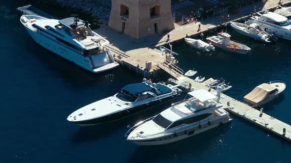 Download Aerial View Skyline Monaco Luxury Yachts nulled download