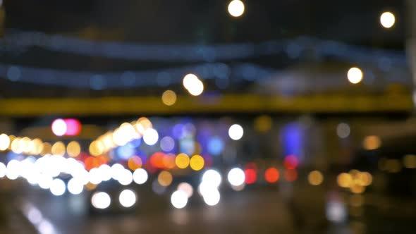 VideoHive Night Traffic in Blur 12206424