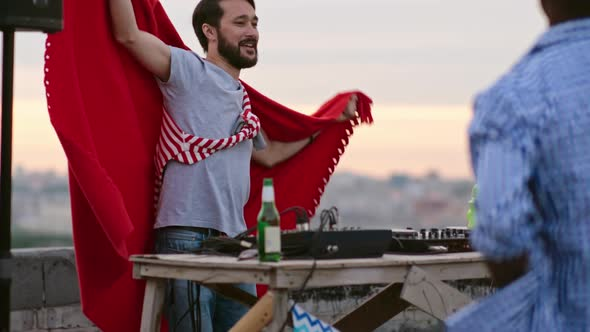 Download Asian DJ Rocking Rooftop Party nulled download