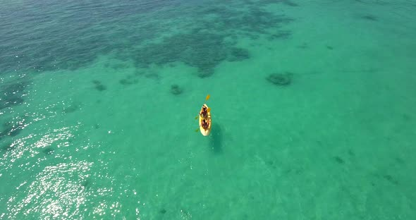 VideoHive Kayaking At The Sea 18935638