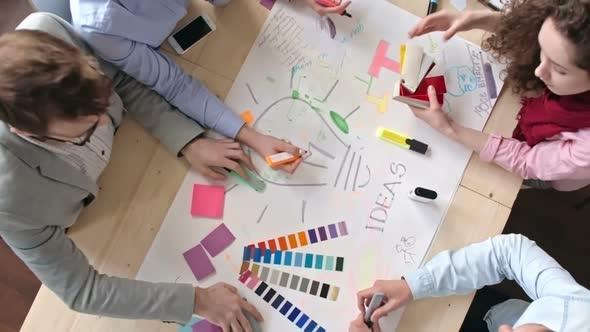 Suunnittelijat ideointia - Business, Corporate Arkistofilmit