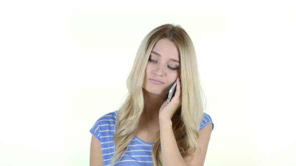 Download Woman Talking On Smartphone nulled download