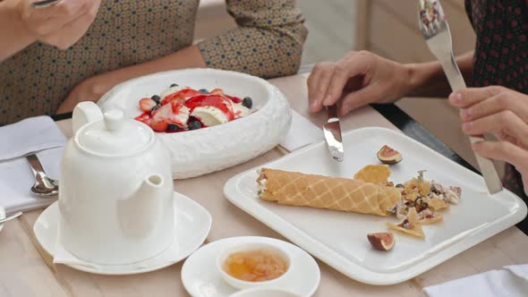 VideoHive Eating Tasty Desserts 19667433