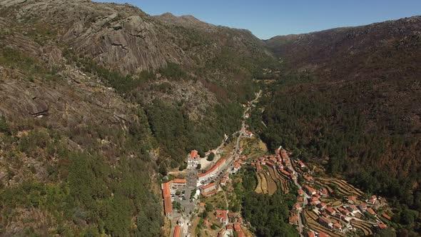 Download Flying Over Senhora da Peneda Sanctuary, Portugal nulled download